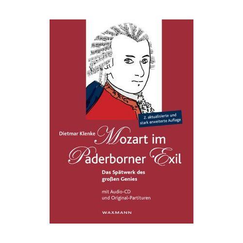 Dietmar Klenke - Mozart im Paderborner Exil /Mit Audio-CD - Preis vom 15.06.2021 04:47:52 h