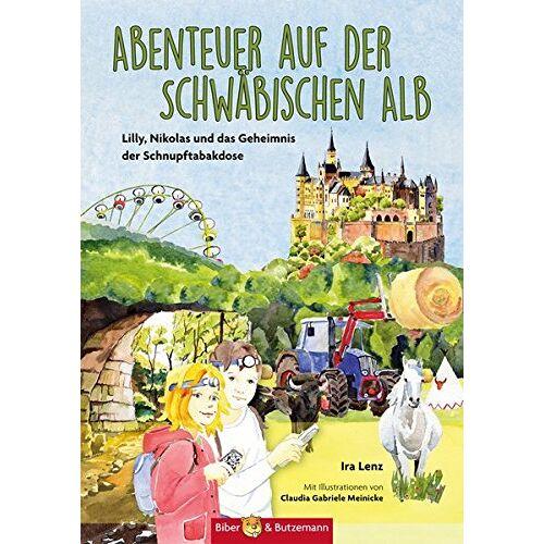 Ira Lenz - Abenteuer auf der Schwäbischen Alb: Lilly, Nikolas und das Geheimnis der Schnupftabakdose (Lilly und Nikolas) - Preis vom 17.05.2021 04:44:08 h