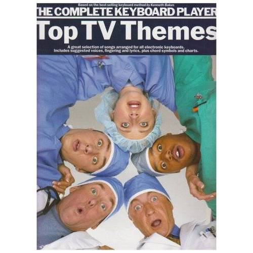 Divers - Complete Keyboard Player: Top TV Themes: Songbook für Keyboard (The Complete Keyboard Player) - Preis vom 18.06.2021 04:47:54 h