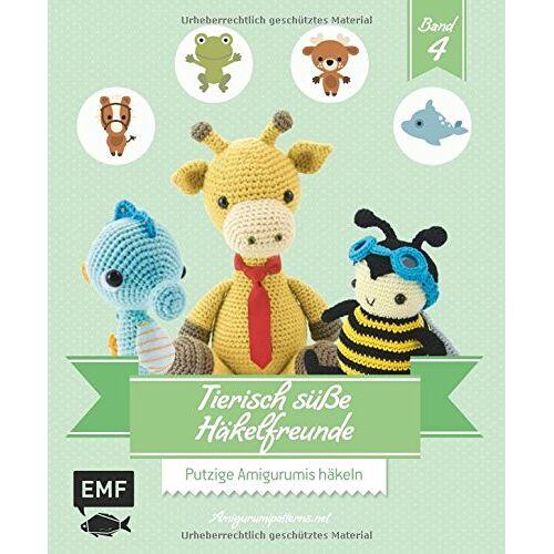Amigurumipattern - Tierisch süße Häkelfreunde 4: Putzige Amigurumis häkeln - Preis vom 20.06.2021 04:47:58 h