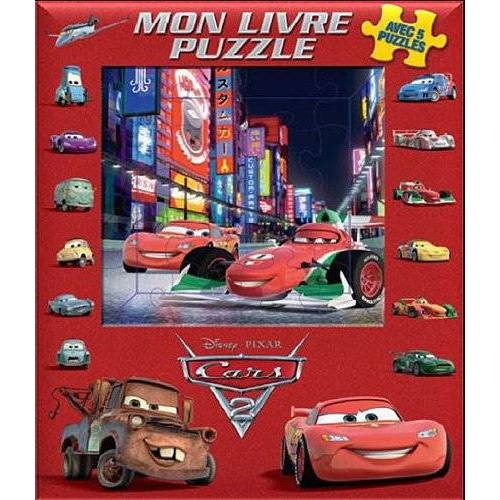 Disney - Mon livre puzzle Cars 2 - Preis vom 03.05.2021 04:57:00 h