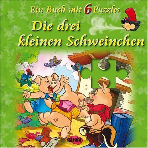 - Drei kleine Schweinchen - Puzzle - Buch mit 6 Puzzles: Ein Buch mit 6 Puzzles - Preis vom 13.09.2021 05:00:26 h