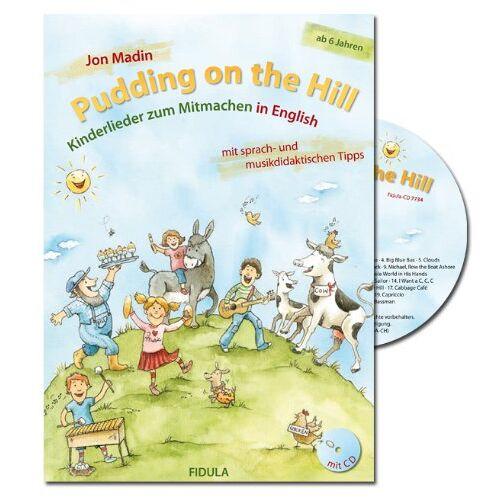 Jon Madin - Pudding on the Hill, m. Audio-CD - Preis vom 27.07.2021 04:46:51 h