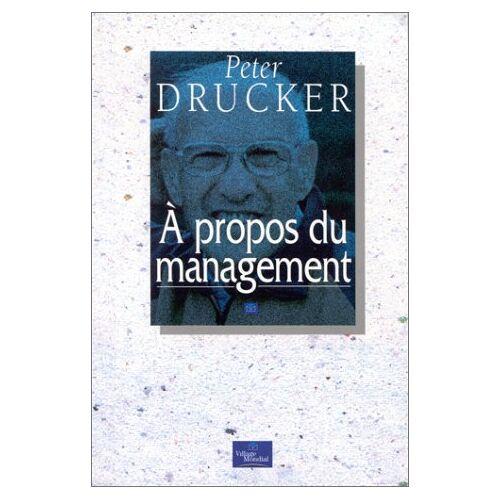 Peter Drucker - A propos du management (Management & Or) - Preis vom 13.06.2021 04:45:58 h