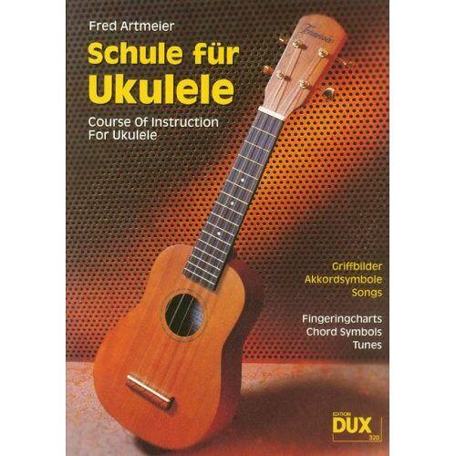 Fred Artmeier - Schule für Ukulele: Griffbilder, Akkordsymbole, Songs - Preis vom 21.06.2021 04:48:19 h