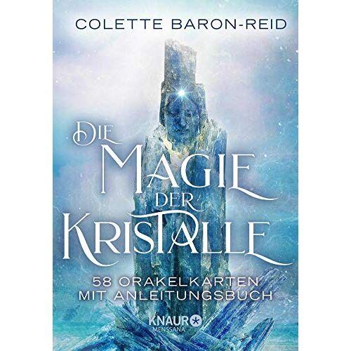 Colette Baron-Reid - Die Magie der Kristalle: 58 Orakelkarten mit Anleitungsbuch - Preis vom 15.10.2021 04:56:39 h