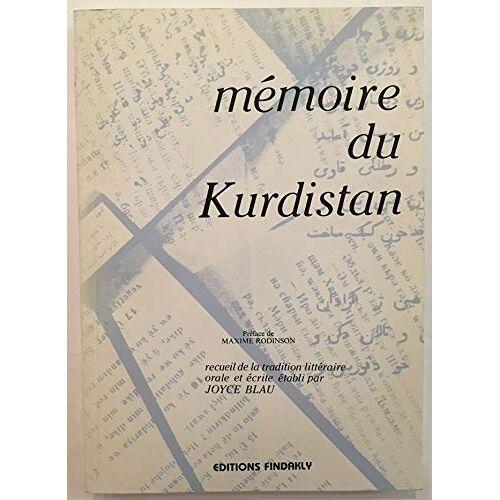 Joyce Blau - Mémoire du Kurdistan - Preis vom 09.06.2021 04:47:15 h