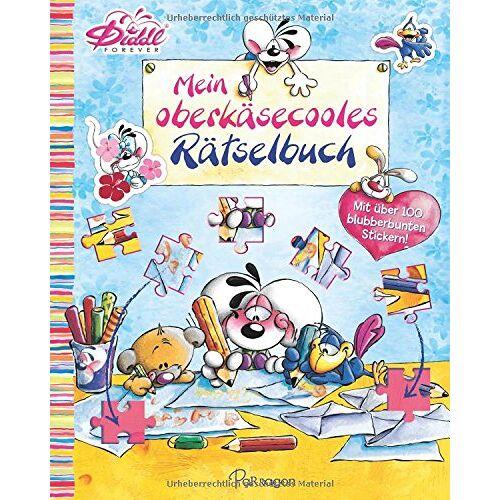 - Diddl Mein oberkäsecooles Rätselbuch: Mit über 100 blubberbunten Stickern - Preis vom 21.06.2021 04:48:19 h