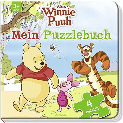 Disney - Disney Winnie Puuh: Mein Puzzlebuch: Mit 4 Puzzles zu je 12 Teilen - Preis vom 22.09.2021 05:02:28 h