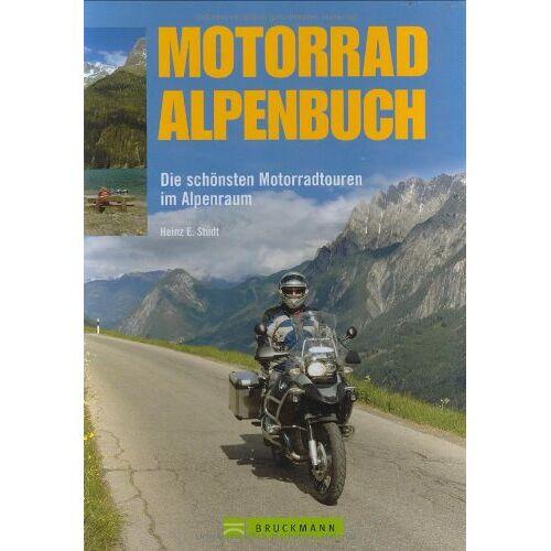 Studt, Heinz E. - Motorrad Alpenbuch: Die schönsten Motorradtouren im Alpenraum - Preis vom 17.06.2021 04:48:08 h