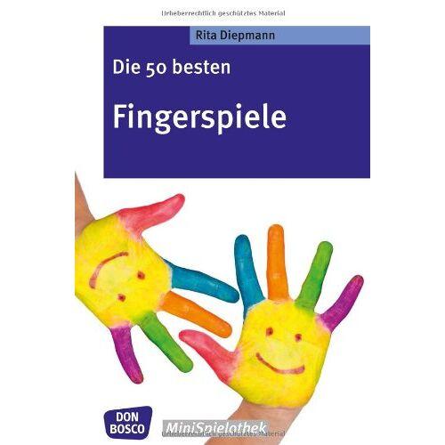 Rita Diepmann - Die 50 besten Fingerspiele. Die Fingerspiele-Hits der fantastischen Fünf! - Preis vom 18.06.2021 04:47:54 h