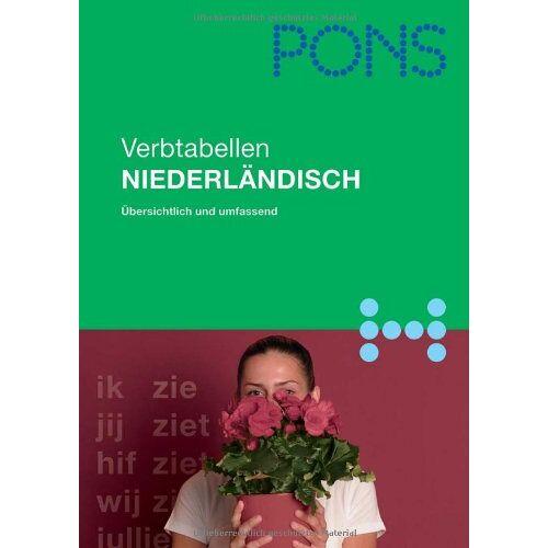 - PONS Verbtabellen. Übersichtlich und umfassend: PONS Verbtabellen Niederländisch: Schnelles Nachschlagen - Preis vom 11.06.2021 04:46:58 h