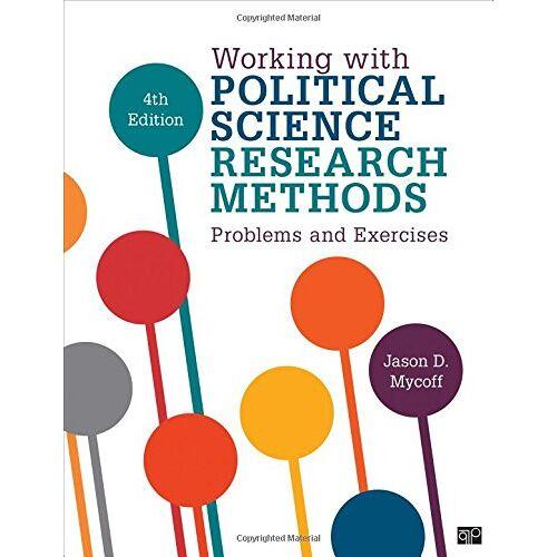 Mycroff, Jason D. - Mycoff, J: Working with Political Science Research Methods - Preis vom 16.06.2021 04:47:02 h