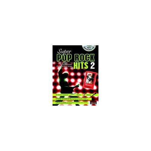 - Super Pop Rock Hits 2 mit Karaoke-CD: Die beliebtesten Pop- und Rock-Songs - Preis vom 14.06.2021 04:47:09 h