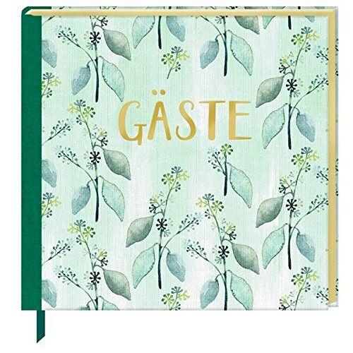- Gästebuch - Gäste (All about green) - Preis vom 13.09.2021 05:00:26 h