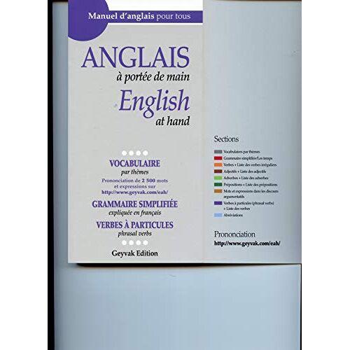 Mina Djabbari - Anglais à portée de main, English at hand - Preis vom 14.06.2021 04:47:09 h