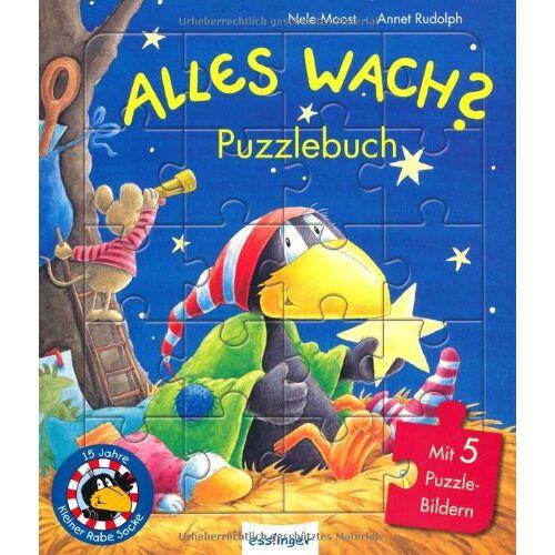 Nele Moost - Alles wach? - Puzzlebuch - Preis vom 02.08.2021 04:48:42 h