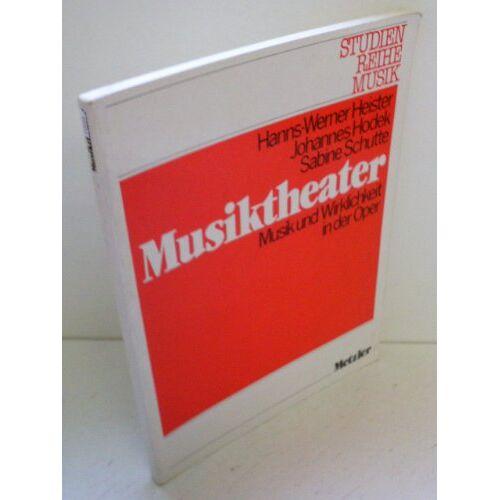 Hanns-Werner Heister - Musiktheater - Preis vom 21.06.2021 04:48:19 h
