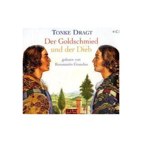 Tonke Dragt - Der Goldschmied und der Dieb, 4 Audio-CDs - Preis vom 29.07.2021 04:48:49 h