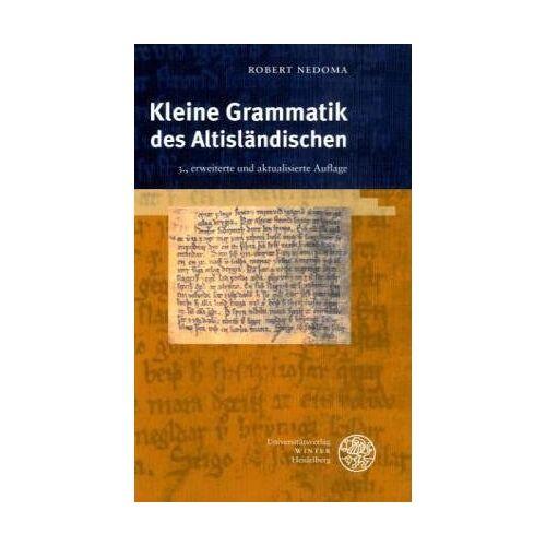Robert Nedoma - Kleine Grammatik des Altisländischen - Preis vom 18.06.2021 04:47:54 h