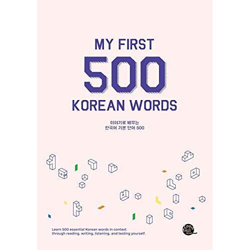 Talktomeinkorean - My First 500 Korean Words - Preis vom 15.10.2021 04:56:39 h
