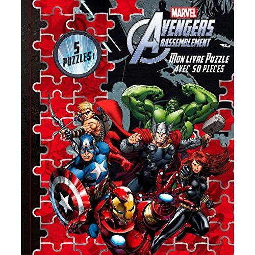 Marvel - Mon livre puzzle Avengers rassemblement : Avec 50 pièces - Preis vom 23.07.2021 04:48:01 h