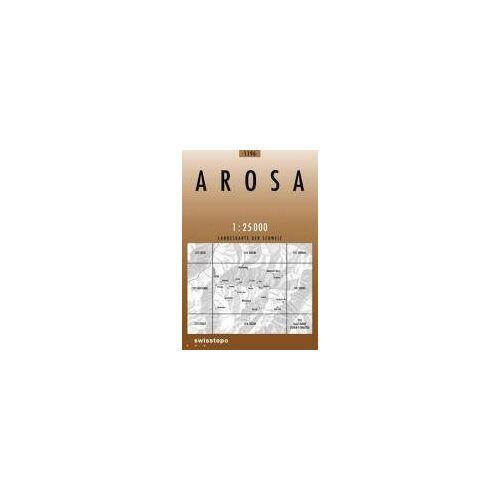 Bundesamt - Swisstopo 1 : 25 000 Arosa - Preis vom 16.06.2021 04:47:02 h