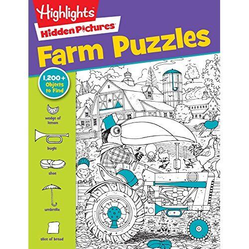 Children, Highlights for - Highlights Hidden Pictures® Favorite Farm Puzzles (Favorite Hidden Pictures®) - Preis vom 11.10.2021 04:51:43 h