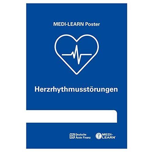 Daniel Marx - Herzrhythmusstörungen - MEDI-LEARN Poster - Preis vom 13.06.2021 04:45:58 h