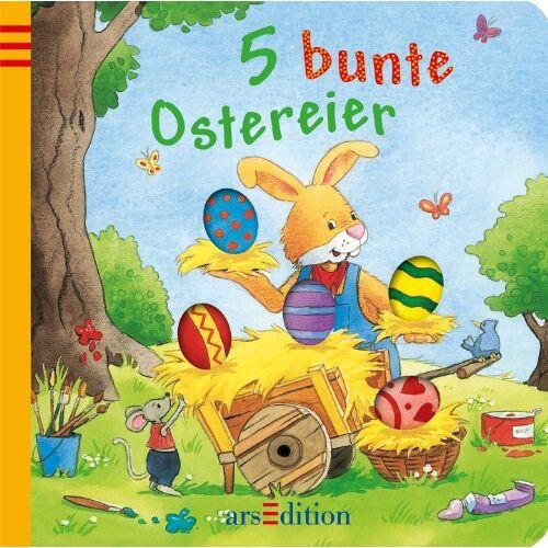 Sabine Cuno - 5 bunte Ostereier - Preis vom 21.06.2021 04:48:19 h