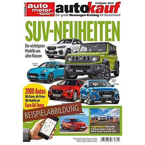 - autokauf 01/2019: Der große Neuwagen-Katalog für Deutschland - Preis vom 29.07.2021 04:48:49 h