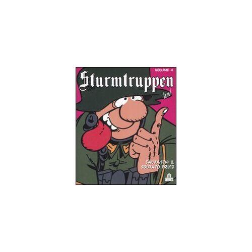 Bonvi - Salvaten il soldato Fritz. Sturmtruppen: 4 - Preis vom 13.06.2021 04:45:58 h