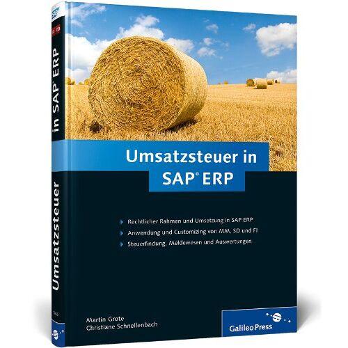 Martin Grote - Umsatzsteuer in SAP ERP (SAP PRESS) - Preis vom 09.06.2021 04:47:15 h