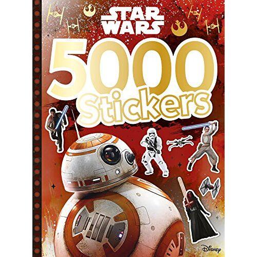 Disney - 5000 stickers Star Wars - Preis vom 19.06.2021 04:48:54 h