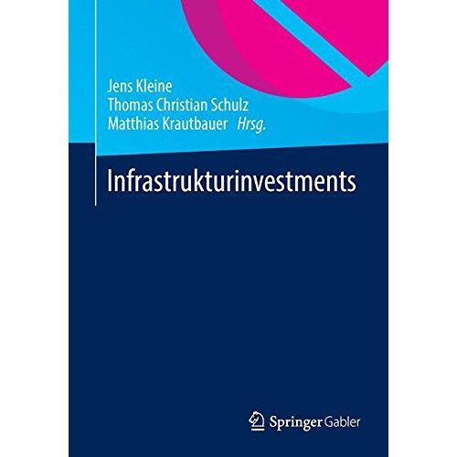 Jens Kleine - Infrastrukturinvestments - Preis vom 24.07.2021 04:46:39 h