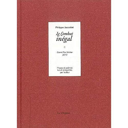 Philippe Jaccottet - Le Combat inégal (+CD) - Preis vom 23.07.2021 04:48:01 h
