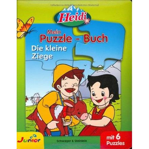 - Heidi - Mein Puzzlebuch: Die kleine Ziege - Preis vom 16.06.2021 04:47:02 h
