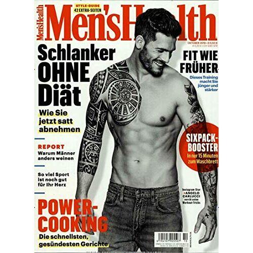 Men's Health - Men's Health 10/2019 Power-Cooking - Preis vom 22.06.2021 04:48:15 h