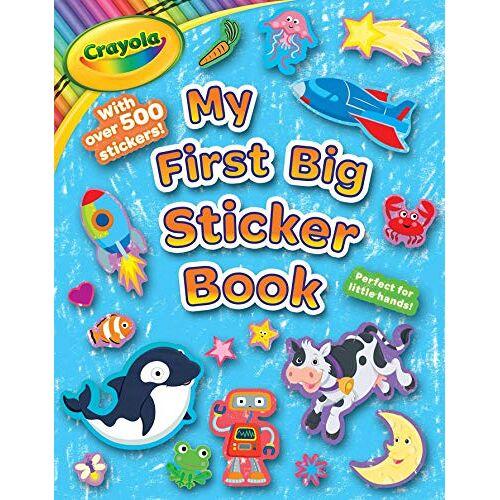 BuzzPop - Crayola My First Big Sticker Book (Crayola/BuzzPop, Band 5) - Preis vom 28.07.2021 04:47:08 h