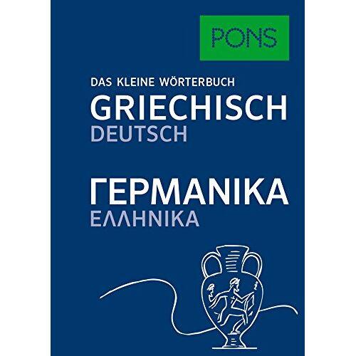 - PONS Das kleine Wörterbuch Griechisch: Griechisch-Deutsch / Deutsch - Griechisch - Preis vom 14.10.2021 04:57:22 h