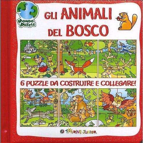 Irene Mazza - Gli animali del bosco. Libro puzzle - Preis vom 16.06.2021 04:47:02 h