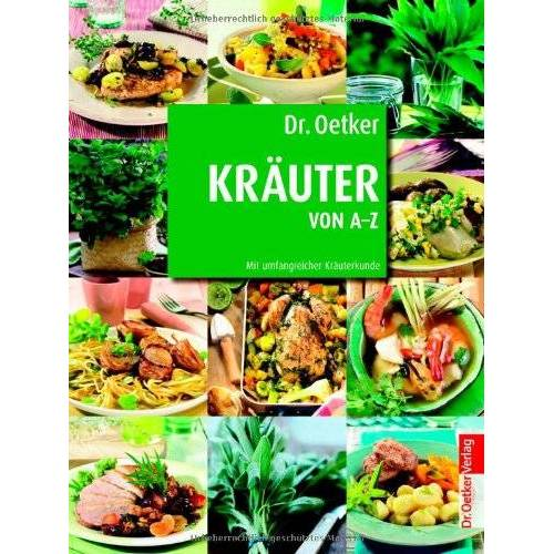 Oetker - Dr. Oetker: Kräuter von A-Z - Preis vom 17.06.2021 04:48:08 h