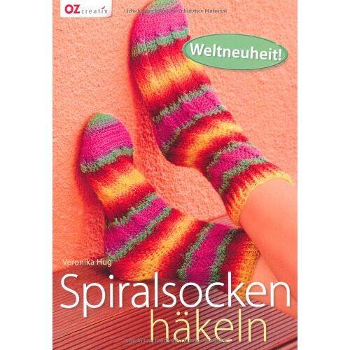 Veronika Hug - Spiralsocken häkeln - Preis vom 09.06.2021 04:47:15 h