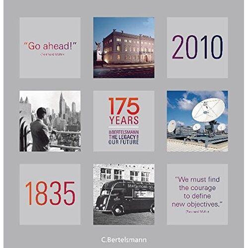Bertelsmann SE & Co. KGaA - 175 Years of Bertelsmann - The Legacy for Our Future - Preis vom 17.05.2021 04:44:08 h