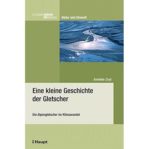 Amédée Zryd - Eine kleine Geschichte der Gletscher: Die Alpengletscher im Klimawandel - Preis vom 13.06.2021 04:45:58 h