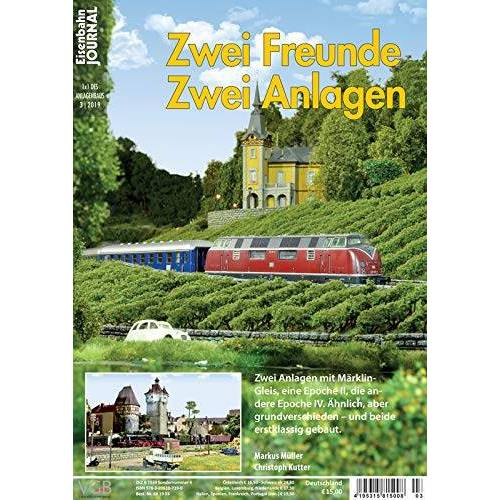 Markus Müller - Zwei Freunde zwei Anlagen - Eisenbahn Journal - 1 x 1 des Anlagenbaus 3-2019 - Preis vom 16.06.2021 04:47:02 h