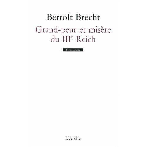 Bertold Brecht - Grande peur et misère du IIIe Reich - Preis vom 11.06.2021 04:46:58 h