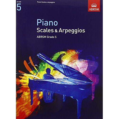 ABRSM - Piano Scales & Arpeggios, Grade 5 (Abrsm Scales & Arpeggios) - Preis vom 11.06.2021 04:46:58 h