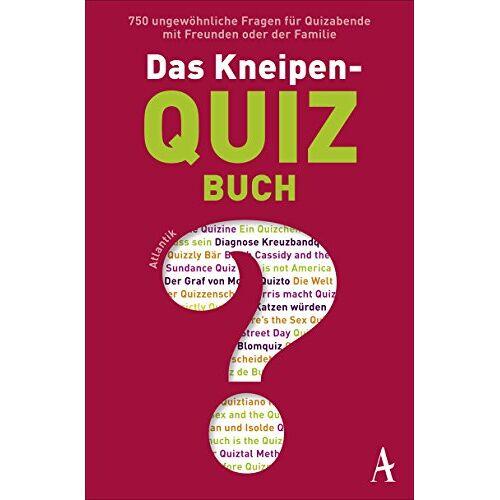 Wanda Eule - Das Kneipenquiz-Buch: Superwissen durch Kneipenquizzen - Preis vom 09.06.2021 04:47:15 h