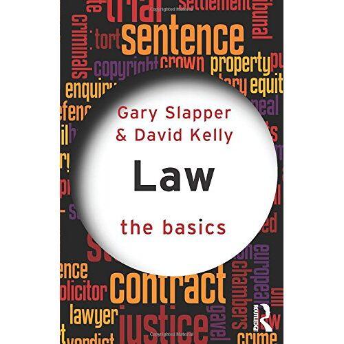 Gary Slapper - Law: The Basics - Preis vom 11.06.2021 04:46:58 h